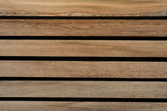 Wood texture with slats. Stock Image