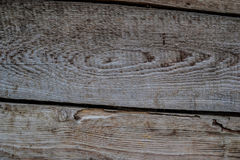 Wooden texture on the hovel. Wood textured background. Old wood table Stock Image