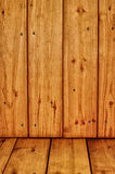 Wooden texture with knots and cracks Royalty Free Stock Photos