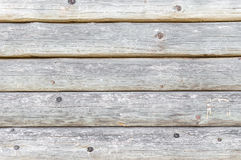 Wooden texture made of logs Royalty Free Stock Photos