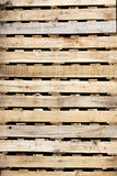 Wooden texture of pallets. Royalty Free Stock Photography