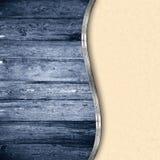 Wooden texture on paper, elegant background Stock Photos