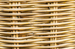 Wooden texture of rattan Royalty Free Stock Photos