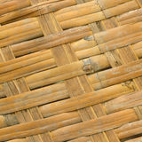 Wooden texture of rattan with natural patterns Royalty Free Stock Images