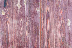 Wooden texture with scratches and cracks. Wooden texture of brown color with scratches and cracks, which can be used as a background royalty free stock photography