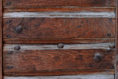 Wooden texture with scratches and cracks Stock Images