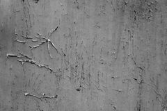 Wooden texture with scratches and cracks Royalty Free Stock Photos