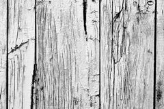 Wooden texture with scratches and cracks Royalty Free Stock Photography