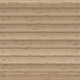 Wooden texture, vector illustration. Royalty Free Stock Photography