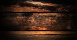 Wooden texture.Wet after the rain. Wooden texture. Wet after the rain. Wet tree with golden shimmer Royalty Free Stock Images