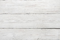 Wood Texture, White Wooden Background, Vintage Grey Timber Plank Wall. Close Up Royalty Free Stock Images