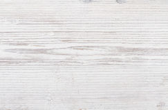 Wooden texture, white wood background Stock Photography