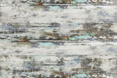 Wooden texture, white wood planks background. This is white washed wood with a hint of blue turquoise color in it. Pastel wood planks texture background stock image
