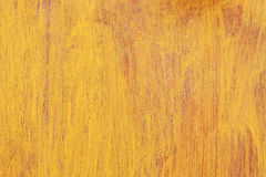 wooden texture with yellow paint for background Royalty Free Stock Photography