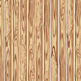 Wooden textured background. Vector. Stock Photography