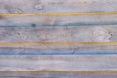 Wooden textured Fence with horizontal boards Stock Image