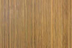 A wooden textured wainscot Stock Image