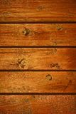 Wooden textured wall. Wooden wall from boards as a textured background Stock Images
