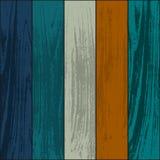 Wooden textures set Stock Images