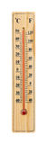 Wooden Thermometer with maximum temperature Royalty Free Stock Image