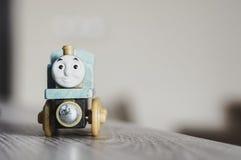Wooden Thomas toy train Stock Image
