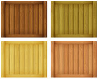 Wooden tile designs Stock Images
