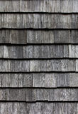 Wooden tile on the roof of house Royalty Free Stock Photos