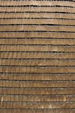 Wooden tiled wall. Wall with old wooden tiles Stock Images