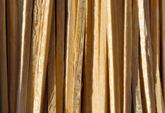 Wooden tiles 011. Wooded sticks tiled up together Stock Photos