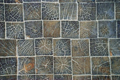 Wooden tiles Stock Photo