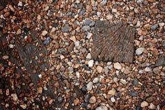 Wooden tiles Stock Photo