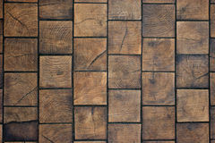 Wooden tiles Stock Images
