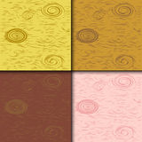 Wooden tiles background. Vector illustration background of four different wooden structured tiles, available to use separate or all together Royalty Free Stock Image