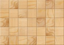 Wooden tiles blocks. For background or texture Royalty Free Stock Images