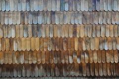 Wooden Tiles Chiloé's unique design, Chiloé Island, Chile Royalty Free Stock Photography