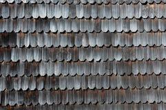 Wooden Tiles Chiloé's unique design, Chiloé Island, Chile Stock Photos