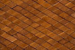 Wooden tiles Royalty Free Stock Photos