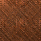 Wooden tiles floor texture. Photo of a wooden tiles floor natural background texture Royalty Free Stock Images