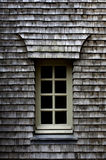 Wooden tiles on a roof Royalty Free Stock Image