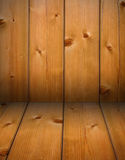 Wooden timber corner Stock Photo