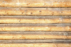 Wooden timbered wall background Royalty Free Stock Photography