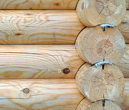Wooden Timbered Wall Stock Images
