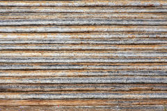 Wooden timbered wall Royalty Free Stock Image