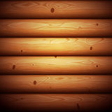 Wooden Timbered Wall Seamless Background Stock Photography