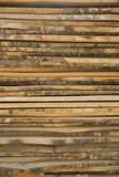 Wooden timbers Texture . Wooden timbers at the top of each other Stock Images