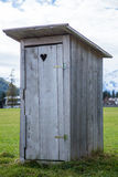 Wooden toilet Stock Photography