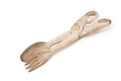 Wooden Tongs Stock Images