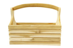 Wooden toolbox Royalty Free Stock Images
