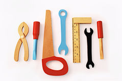 Wooden tools Stock Photography