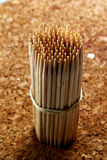 Wooden toothpick Stock Photos